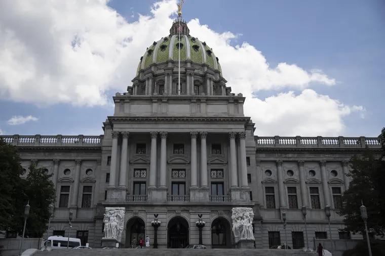The Pennsylvania State Capitol Complex in Harrisburg.