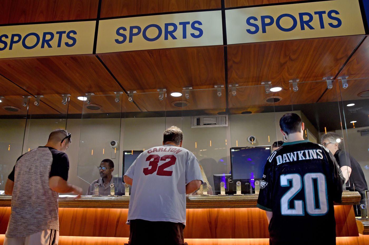 When will each of Atlantic City's nine casinos open sportsbooks?