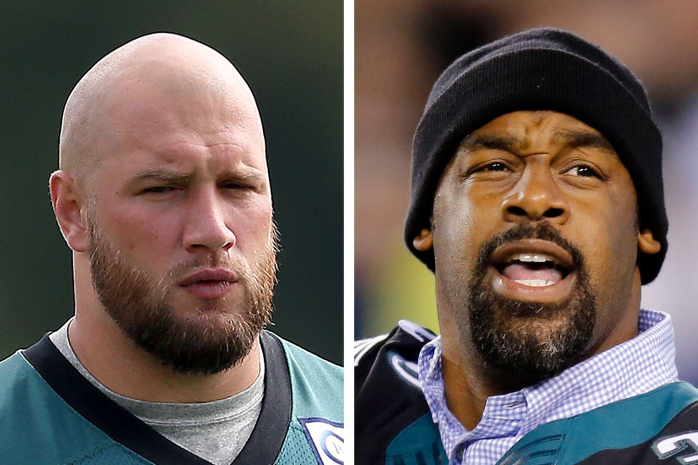 Lane Johnson calls Donovan McNabb a snake over Carson Wentz remarks