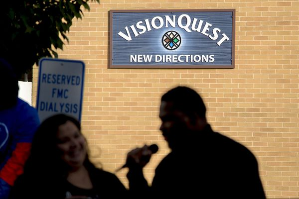 Protesters rally against VisionQuest outside planned Philly site