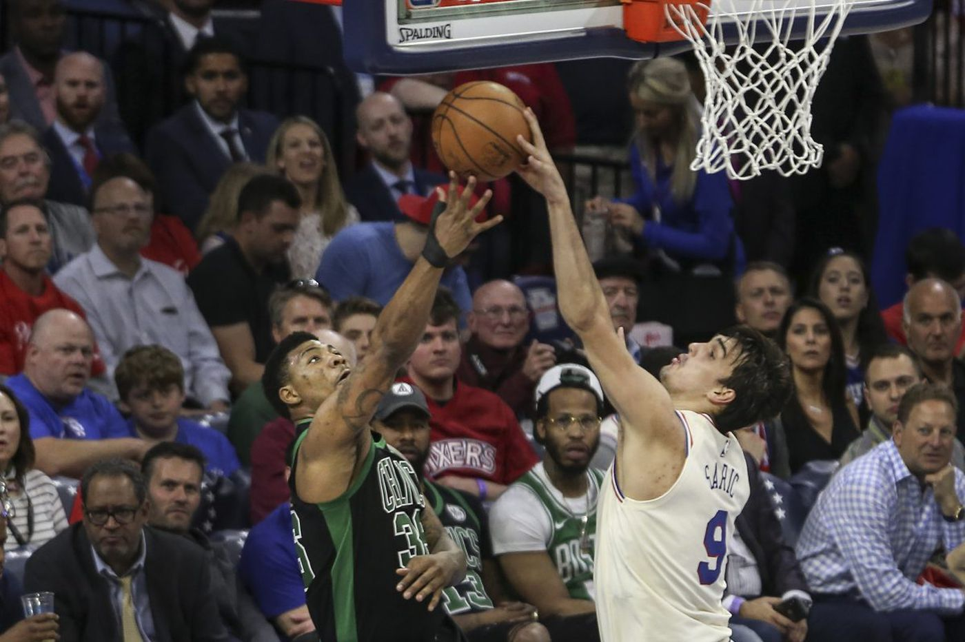 After tough start to series, Dario Saric leads Sixers to Game 4 win over Celtics