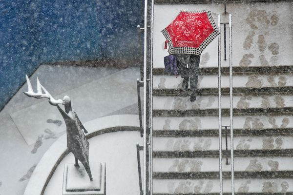 At 9-plus inches, Philly is a shower away from a November rain record