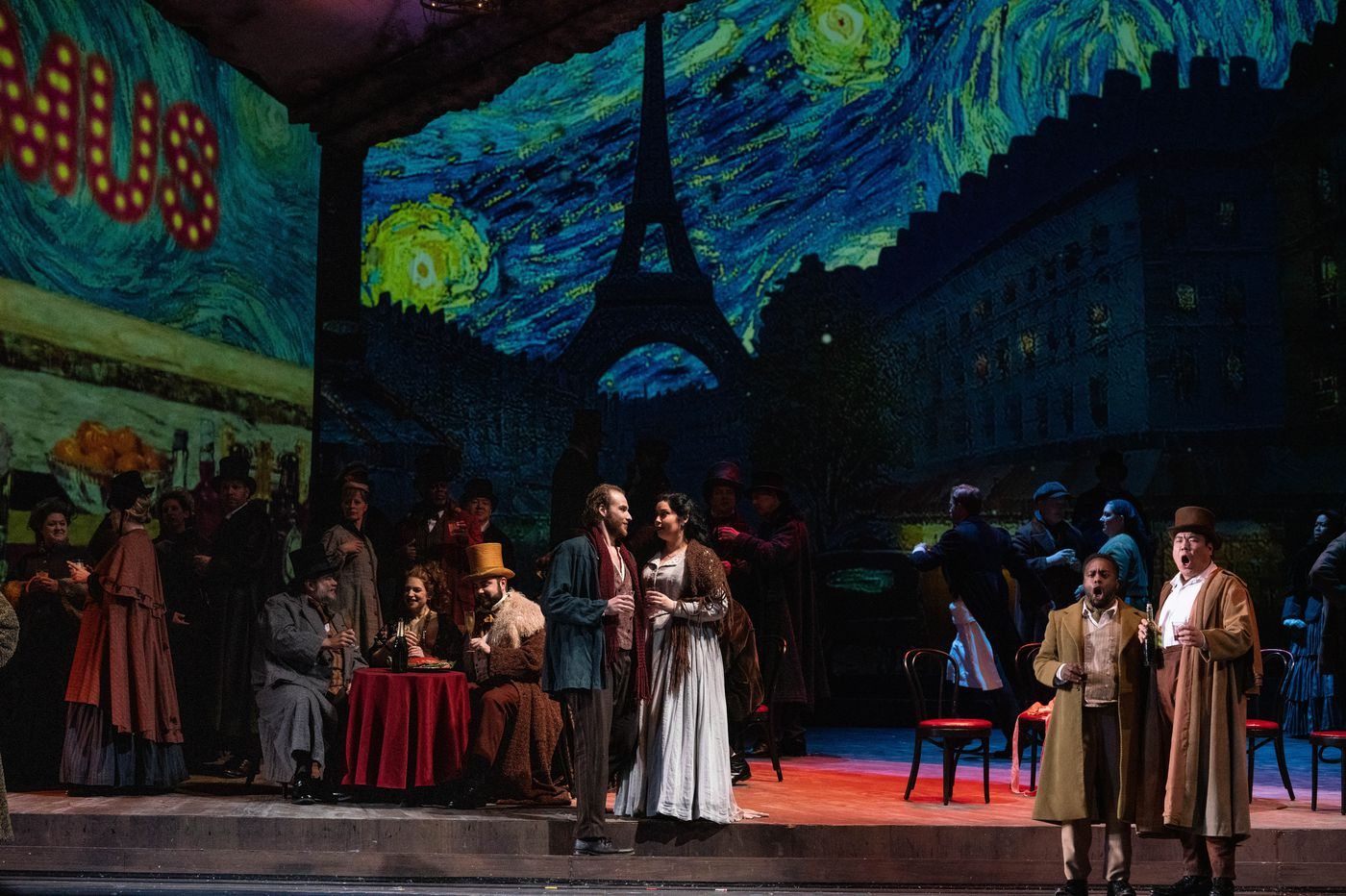 Image result for La bohème at the Academy of Music