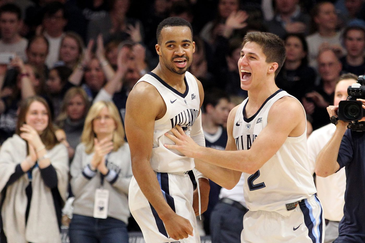 Booth and Paschall are Villanova's mainstays, but their teammates are doing their part