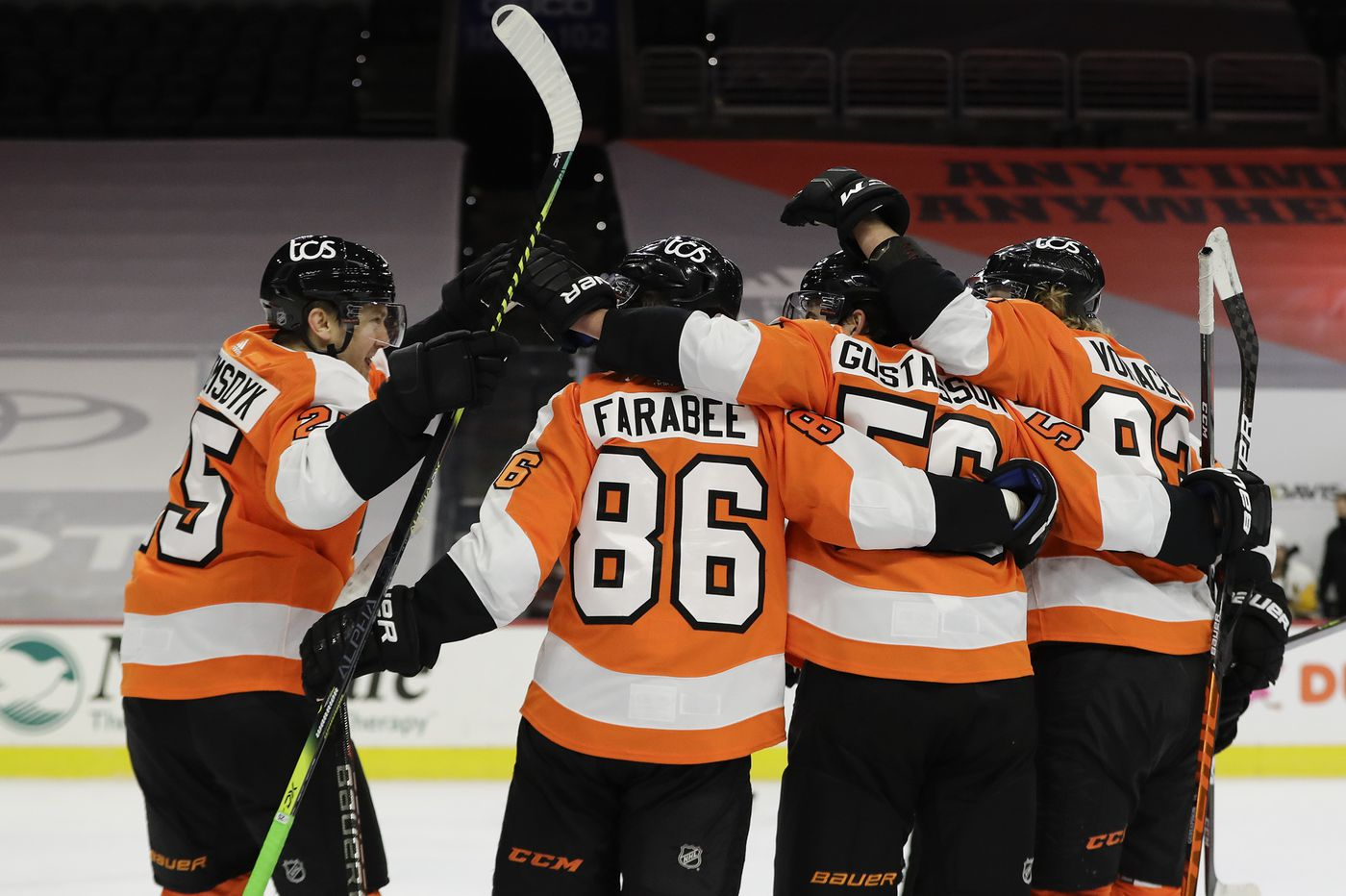 Three reasons the Flyers beat the Penguins, 6-3