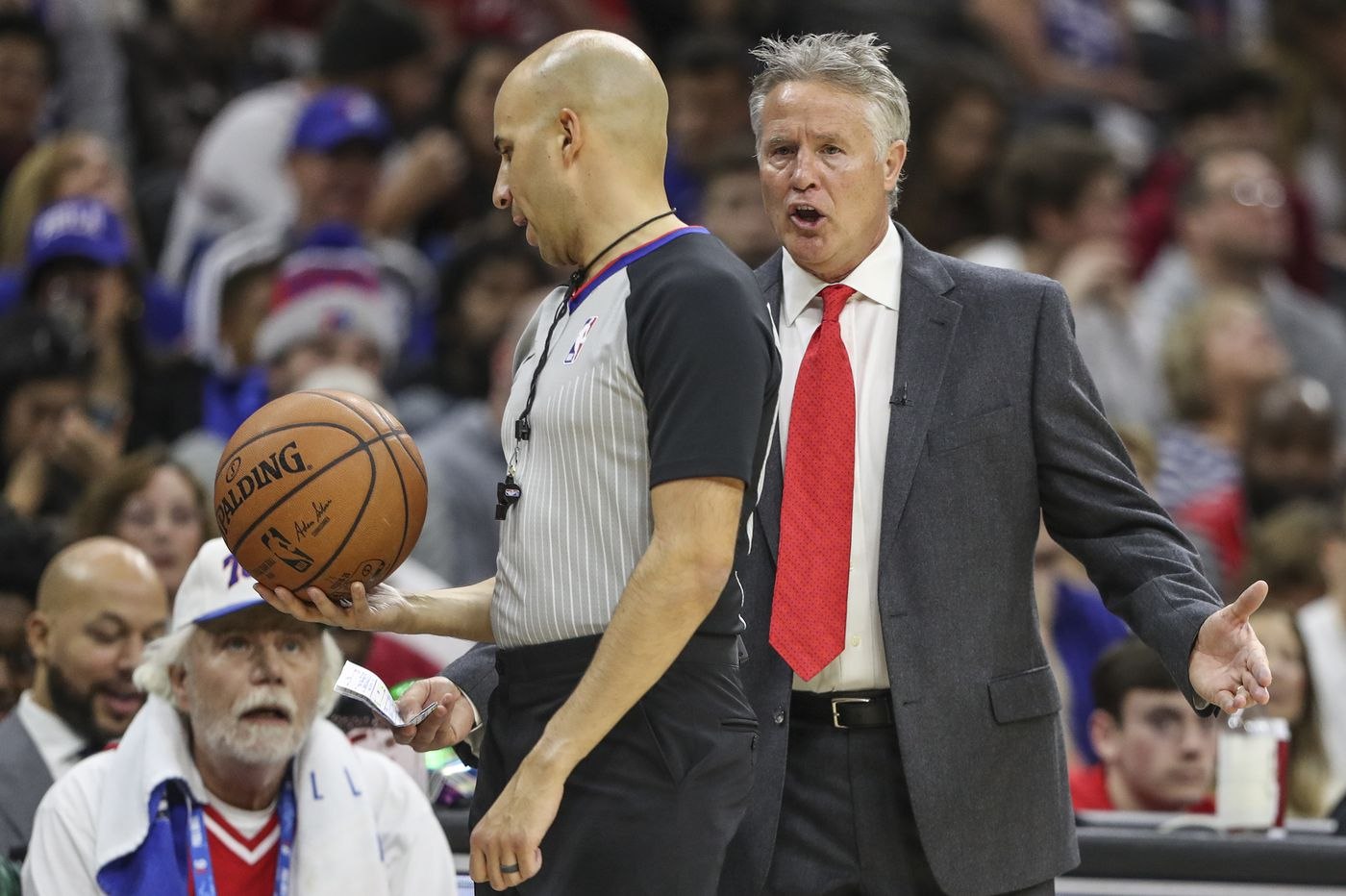 "Brett Brown says Sixers are ""designed for the playoffs"""