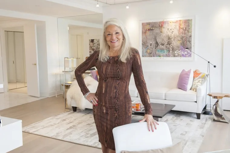 Judy Munroe, founder of Munroe Creative Partners, has redecorated her condo in the Rittenhouse Hotel and Condominiums.