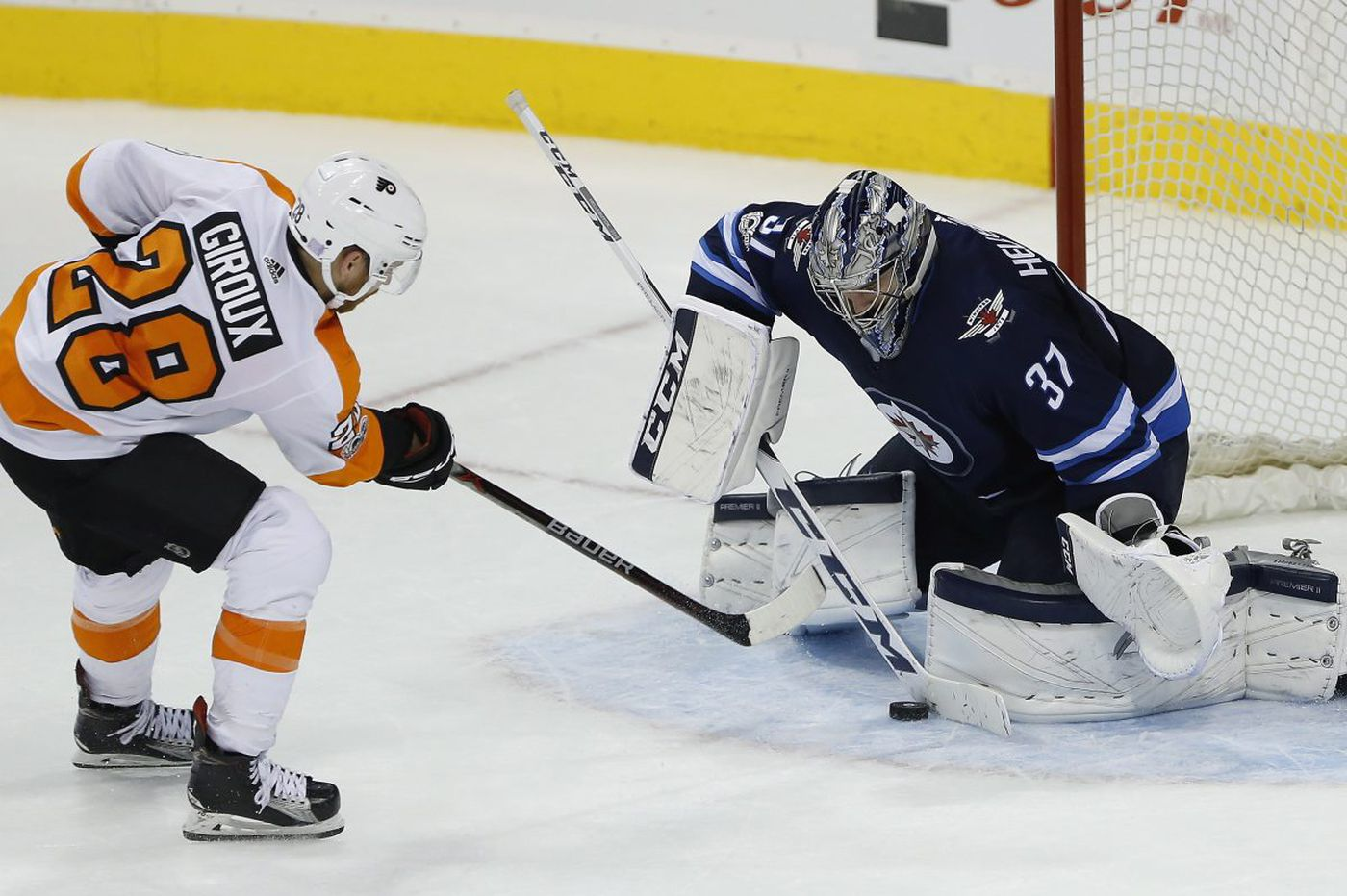 Five observations from the Flyers' loss to the Winnipeg Jets