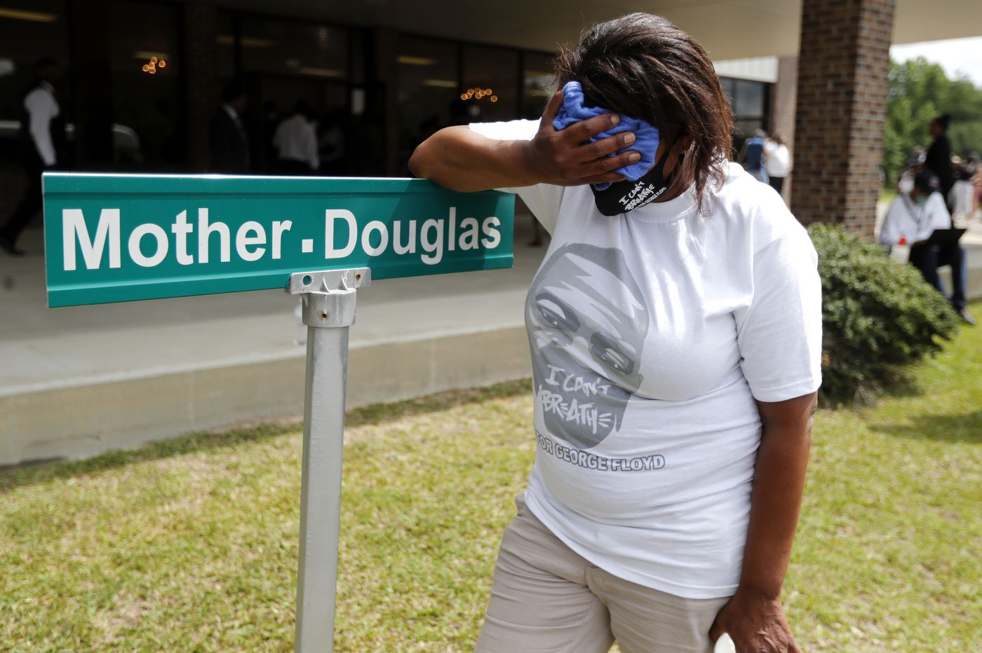 Mourners hold memorial for Floyd as more protests take shape
