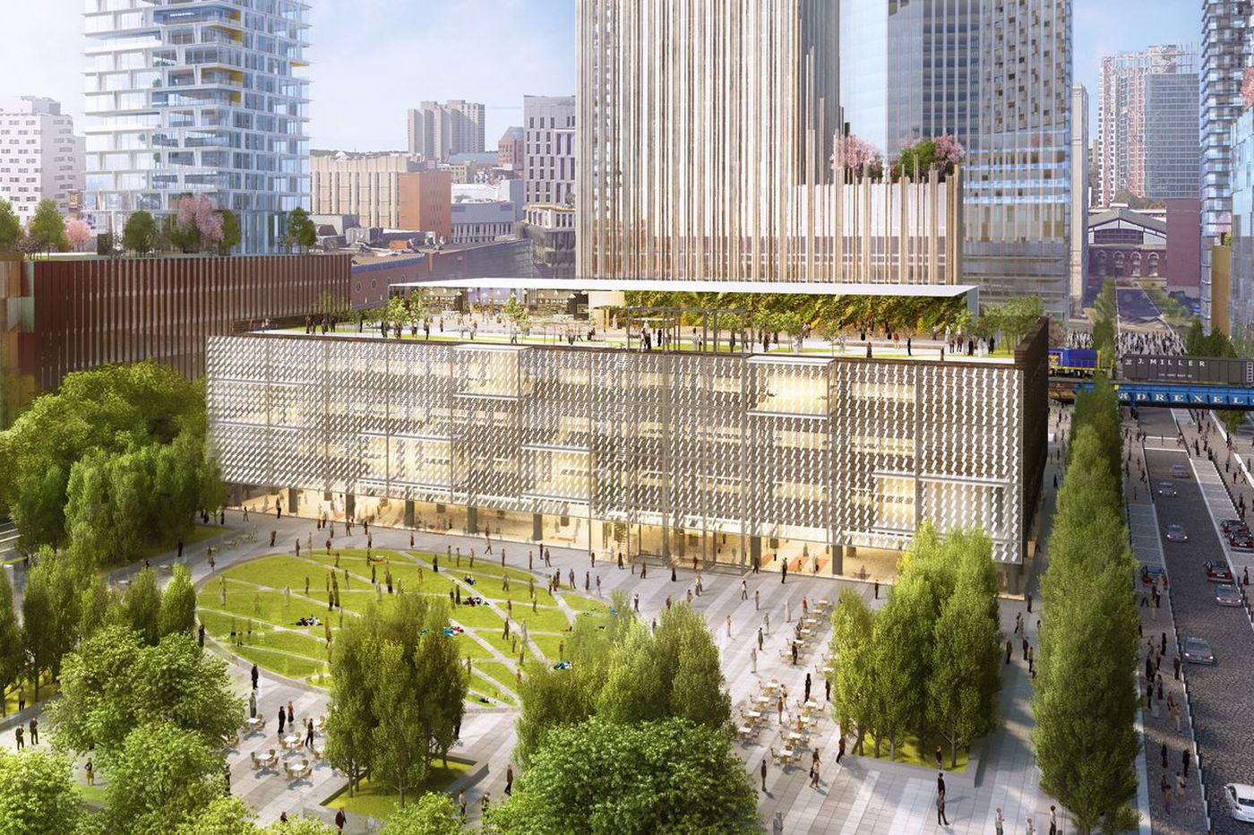 Brandywine to start Schuylkill Yards work next week with groundbreaking for park