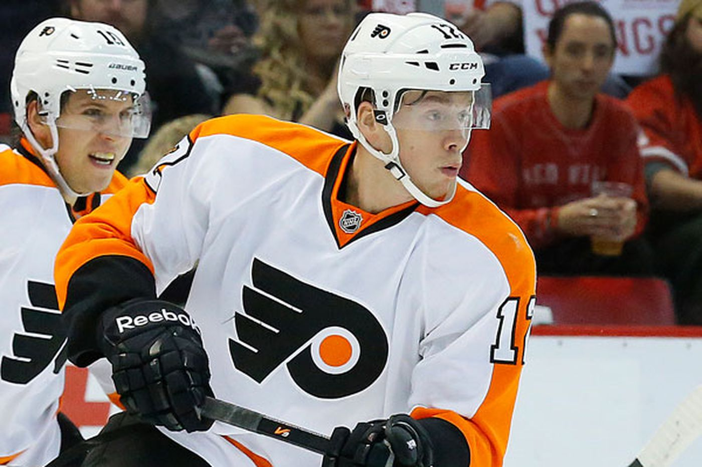 Offense is Raffl's ticket to stay with the Flyers