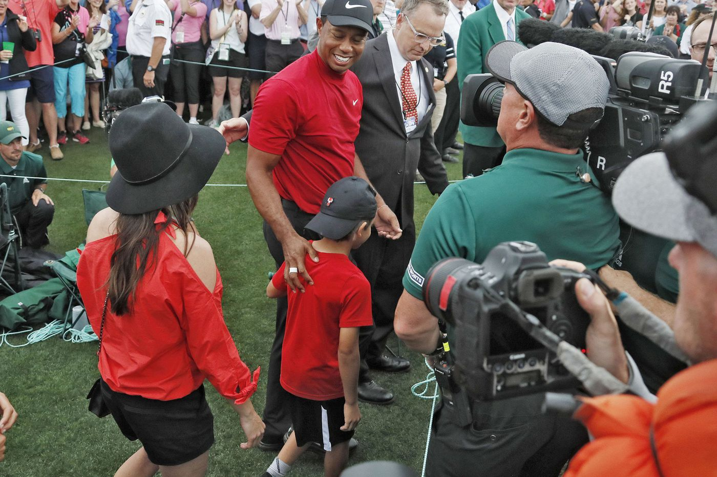 With Masters comeback, Tiger Woods gives golf another unforgettable moment and begins new chapter