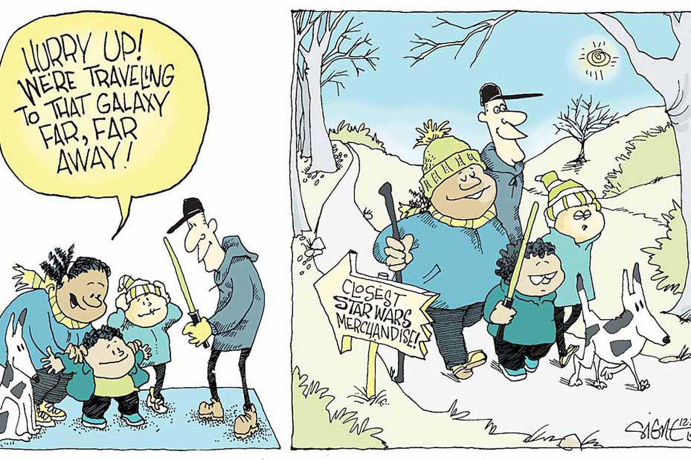 Daily Signe Cartoon 12/20/15