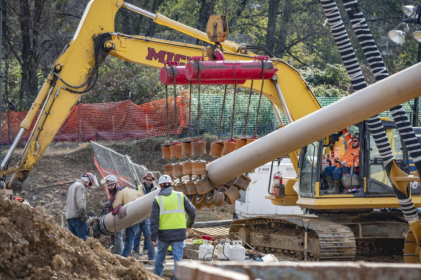 Sunoco wants to block order to reroute Mariner East pipeline away from Chester's Marsh Creek Lake