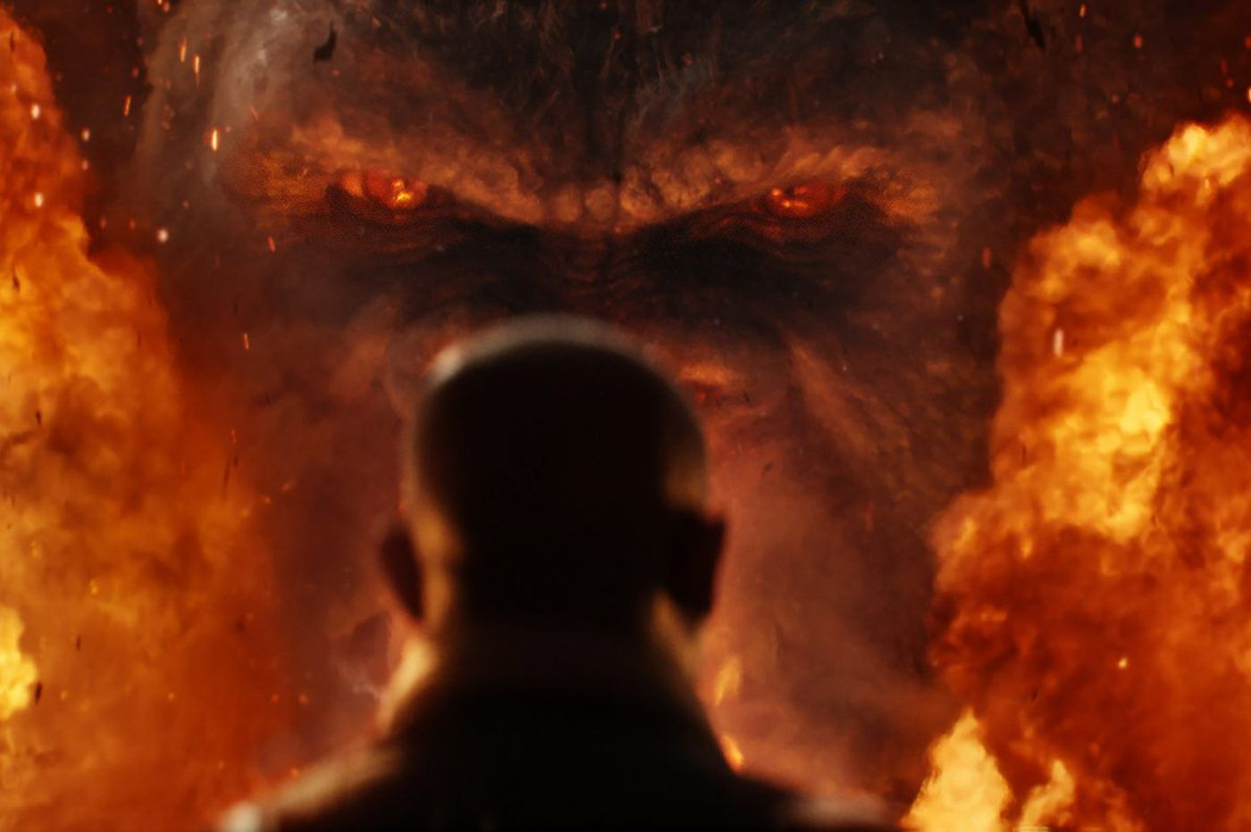 Note to Hollywood effects artists: Stop it with the fire monsters already