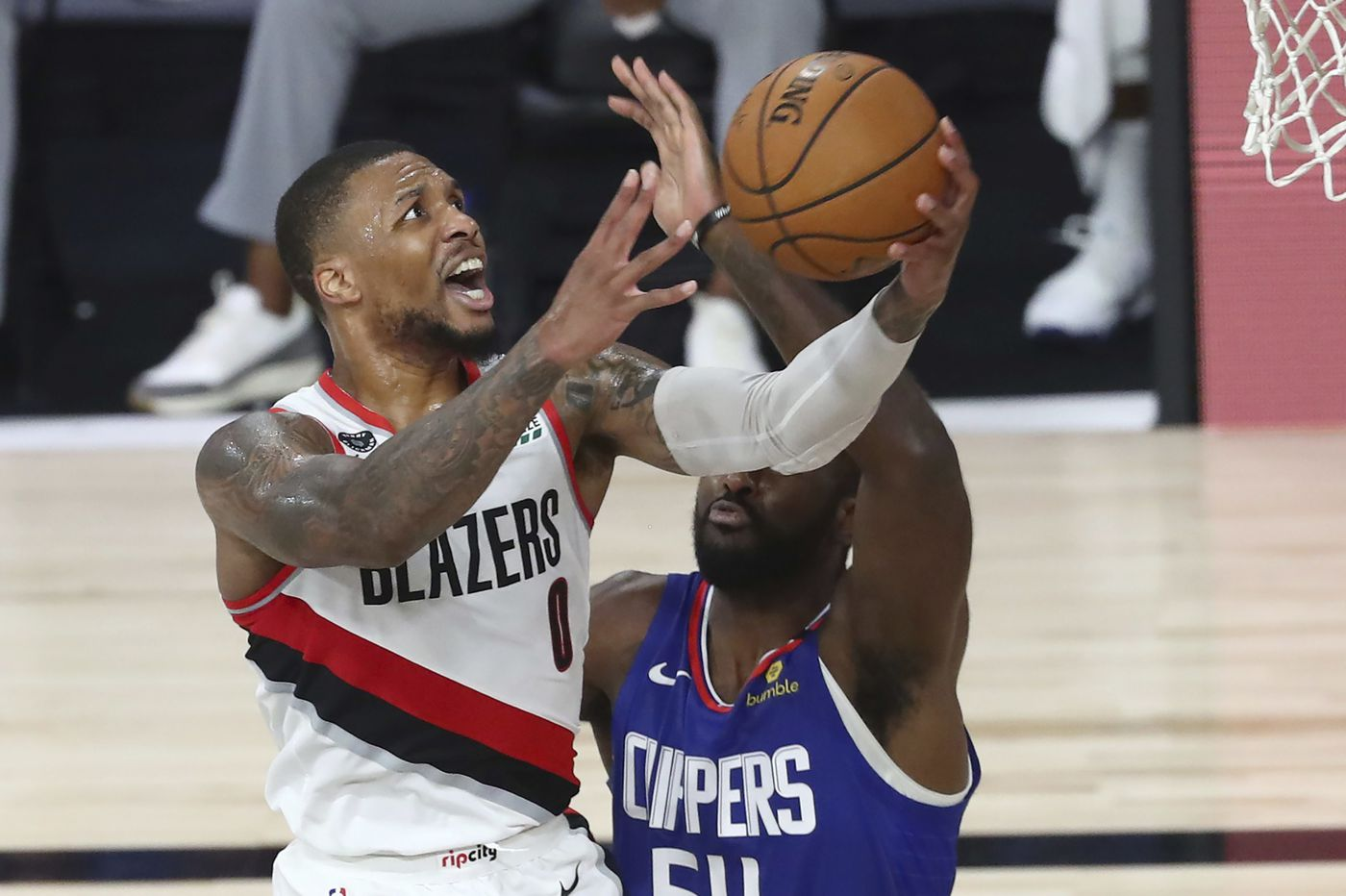 Damian Lillard and the Trail Blazers will look to rebound against the Sixers