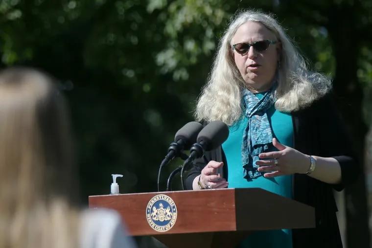 Former Pennsylvania Secretary of Health Dr. Rachel Levine.