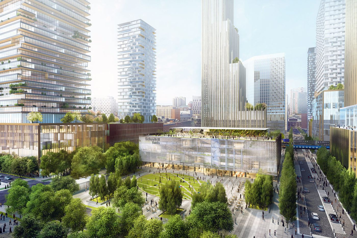 Schuylkill Yards first phase gets Council committee approval, despite neighbors' unrest
