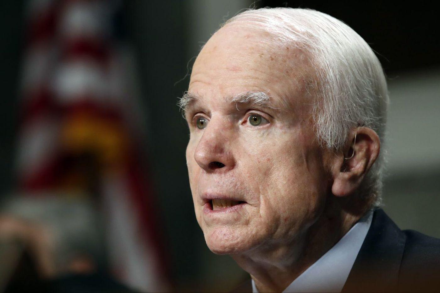 John McCain to receive 2017 Liberty Medal