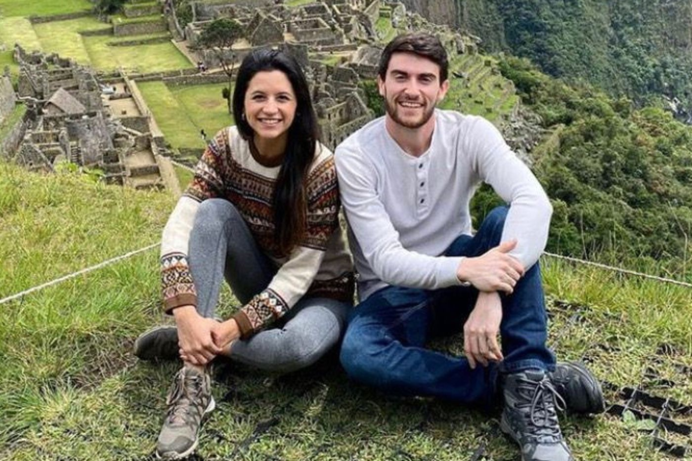 Denise Higney and Daniel Dougherty, both of Philadelphia, are among hundreds of Americans reportedly stuck in Peru after the country closed its borders to international travel amid the spread of the coronavirus.