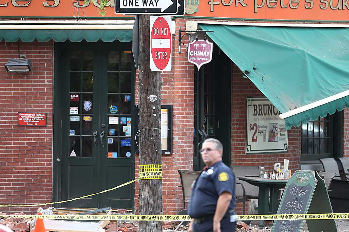 L&I probes partial building collapse in Queen Village