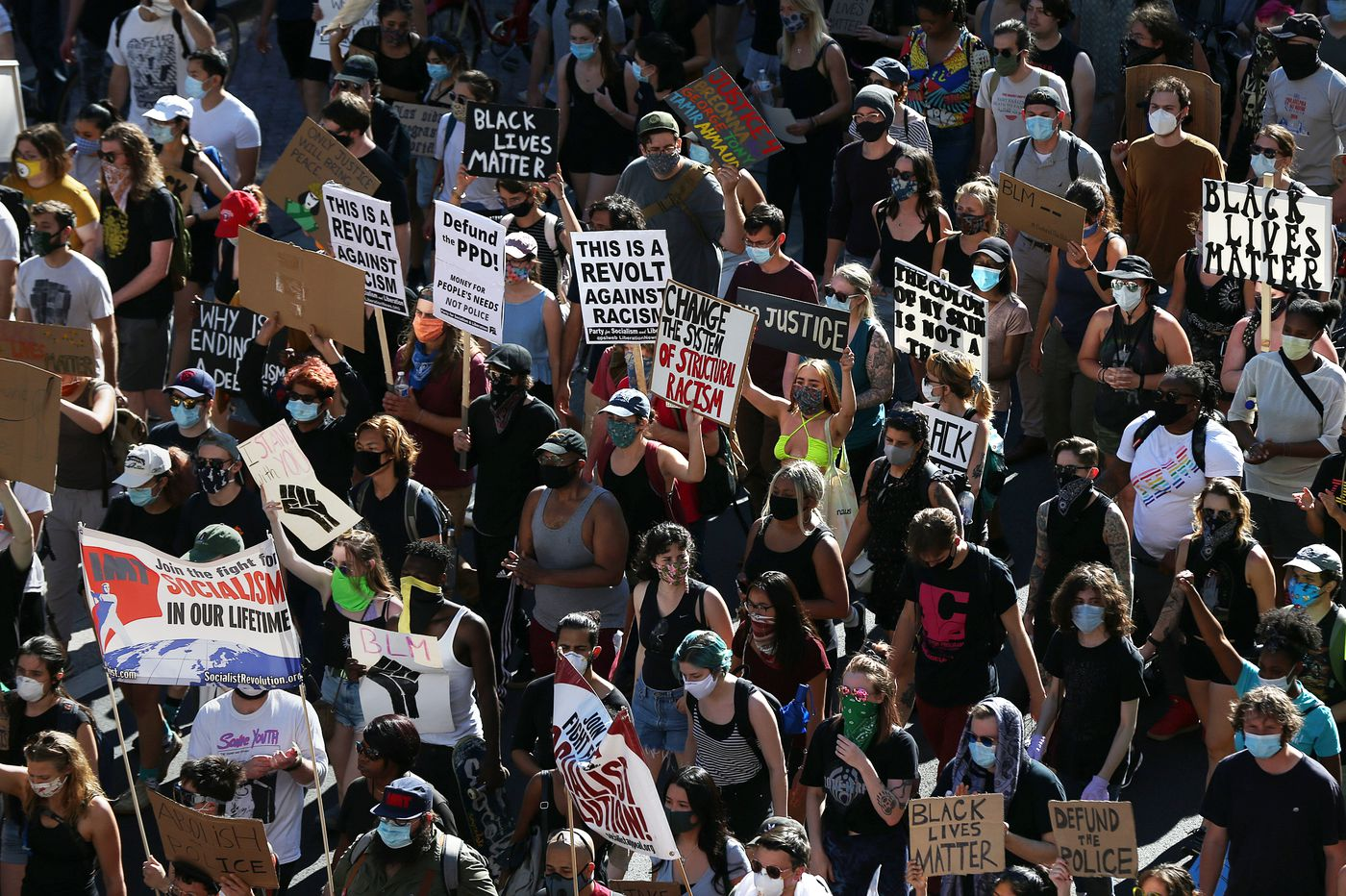 Protests in Philly haven't meant a spike in COVID-19 cases so far, health officials report