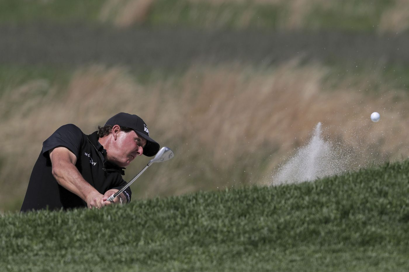 "PGA Championship: Phil Mickelson wanted to break what he called his ""thumbs-up"" record but poor play sidetracked him"