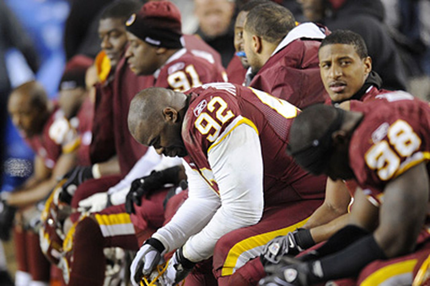 Redskins try to regroup vs. Dallas
