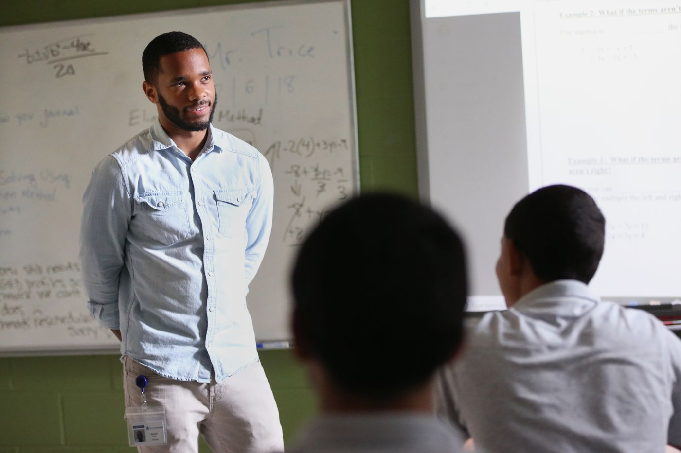 A former drug dealer made good and became a Philly teacher. So why is he thinking of leaving the profession?