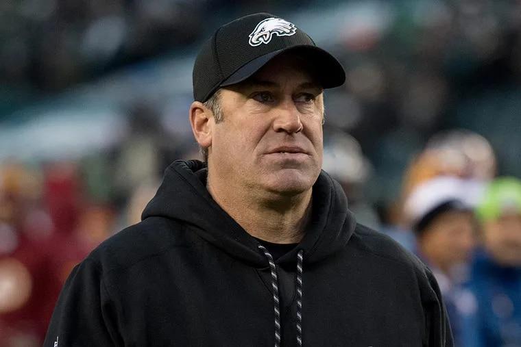 Eagles coach Doug Pederson.