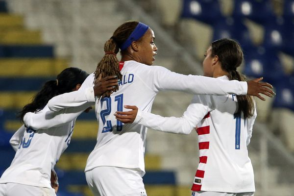 USWNT's Jessica McDonald and Adrianna Franch chase World Cup dreams at the SheBelieves Cup