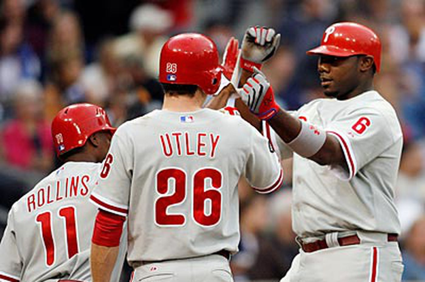 Phillies' five core position players getting older