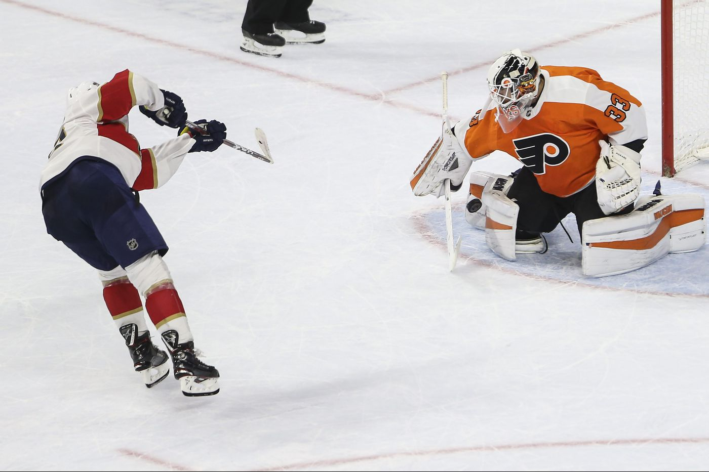 Cal Pickard in nets; Corban Knight will make Flyers debut