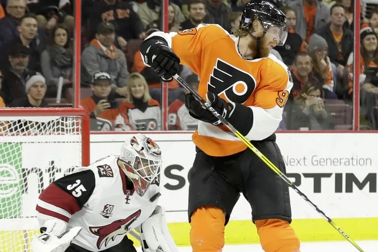 Flyers right winger Jake Voracek is the NHL's co-leader with 30 assists and he is tied for  seventh in the league with 37 points.