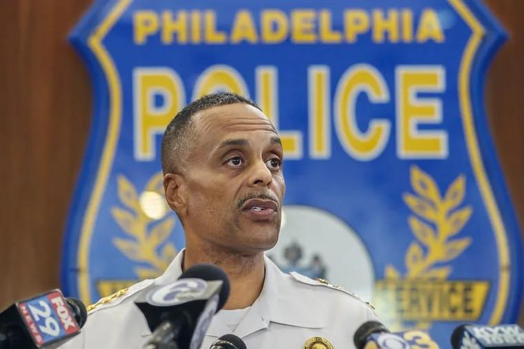 Police Commissioner Richard Ross. MICHAEL BRYANT / Staff Photographer