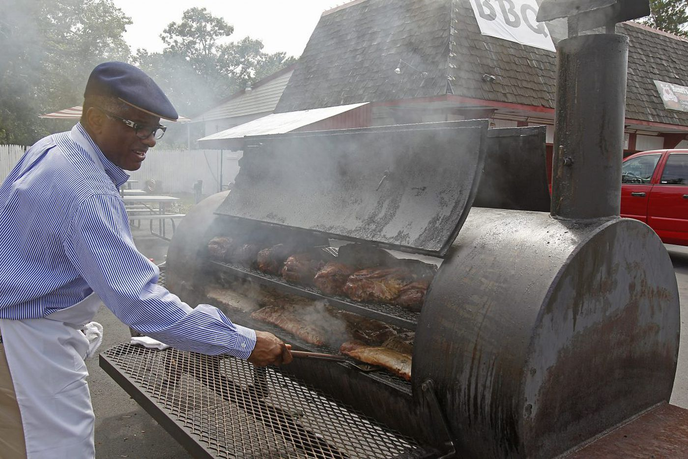 Doug Henri turns out some of the best barbecue in the region at Henri's Hotts Barbecue in Folsom.