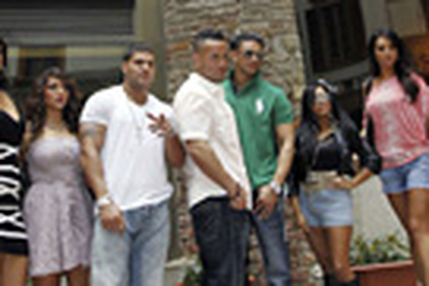 Sideshow: 'Jersey Shore' guys slug it out in Italy