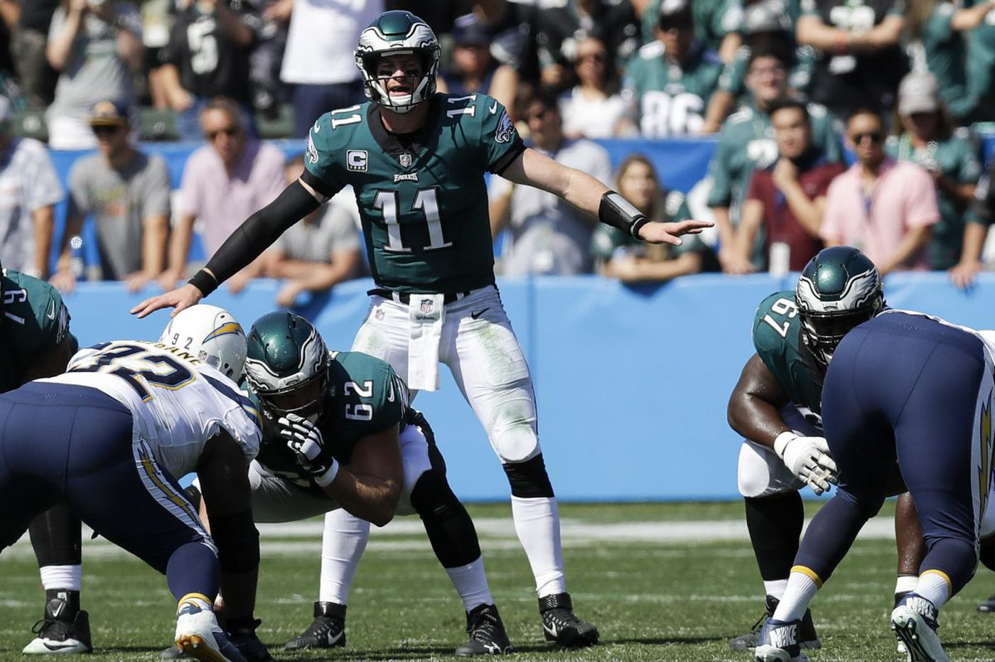 Carson Wentz Excelling Where It Counts On Third Down And In The