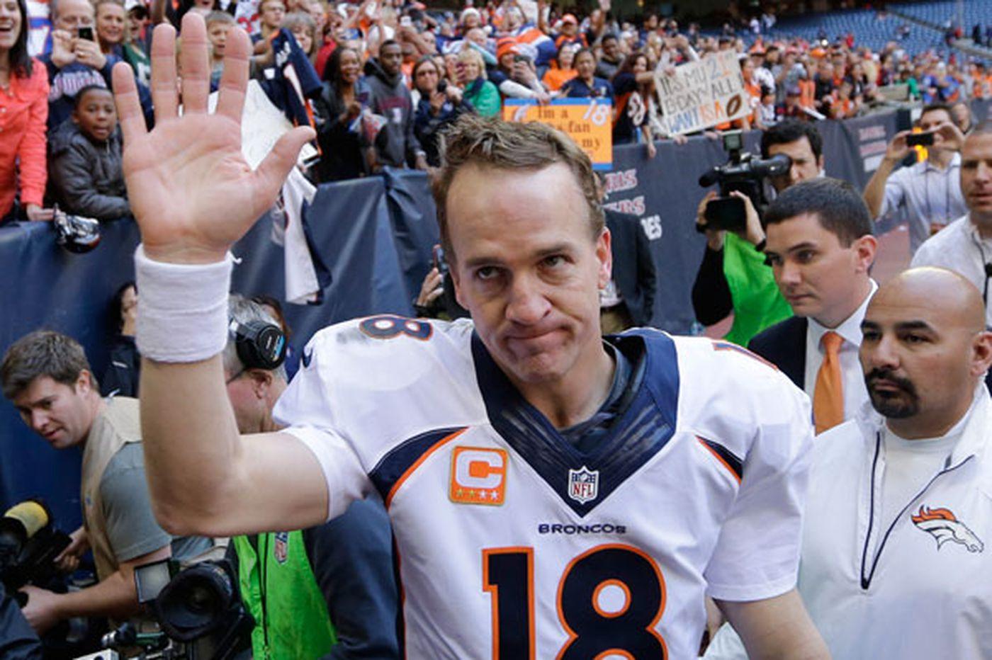 Peyton Manning's big year