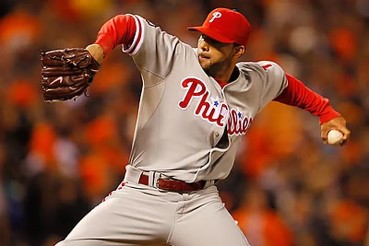 The Phillies have agreed to terms with J.C. Romero on a one-year contract. (Yong Kim/Staff file photo)