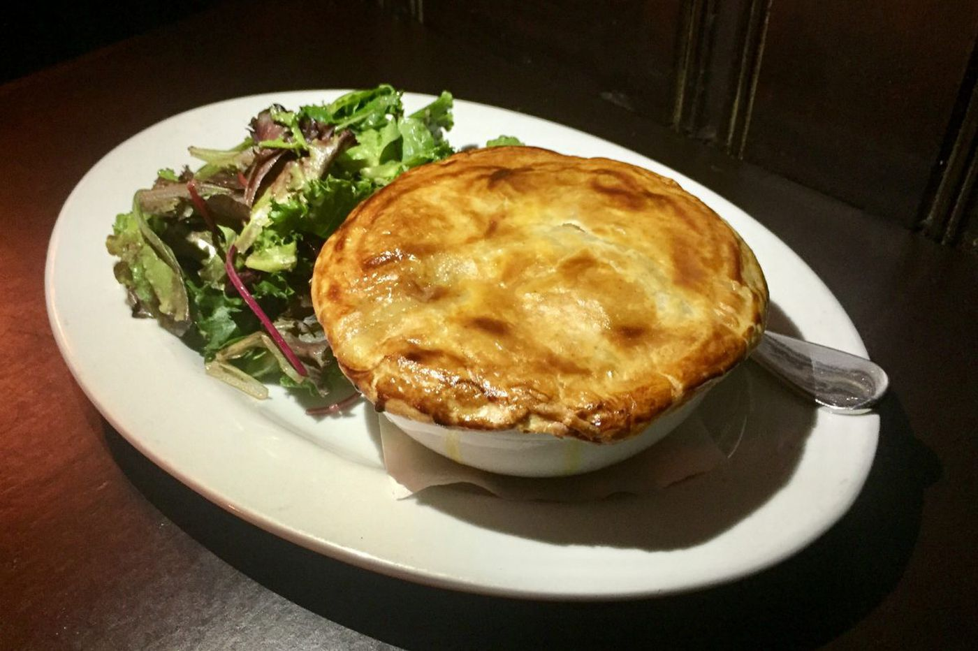 Good Dog debuts a soulful new seafood pot pie in honor of its reopening
