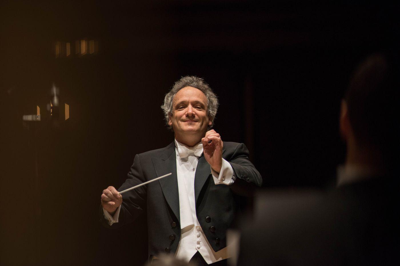 Cincinnati music director elevates the Philadelphia Orchestra's program
