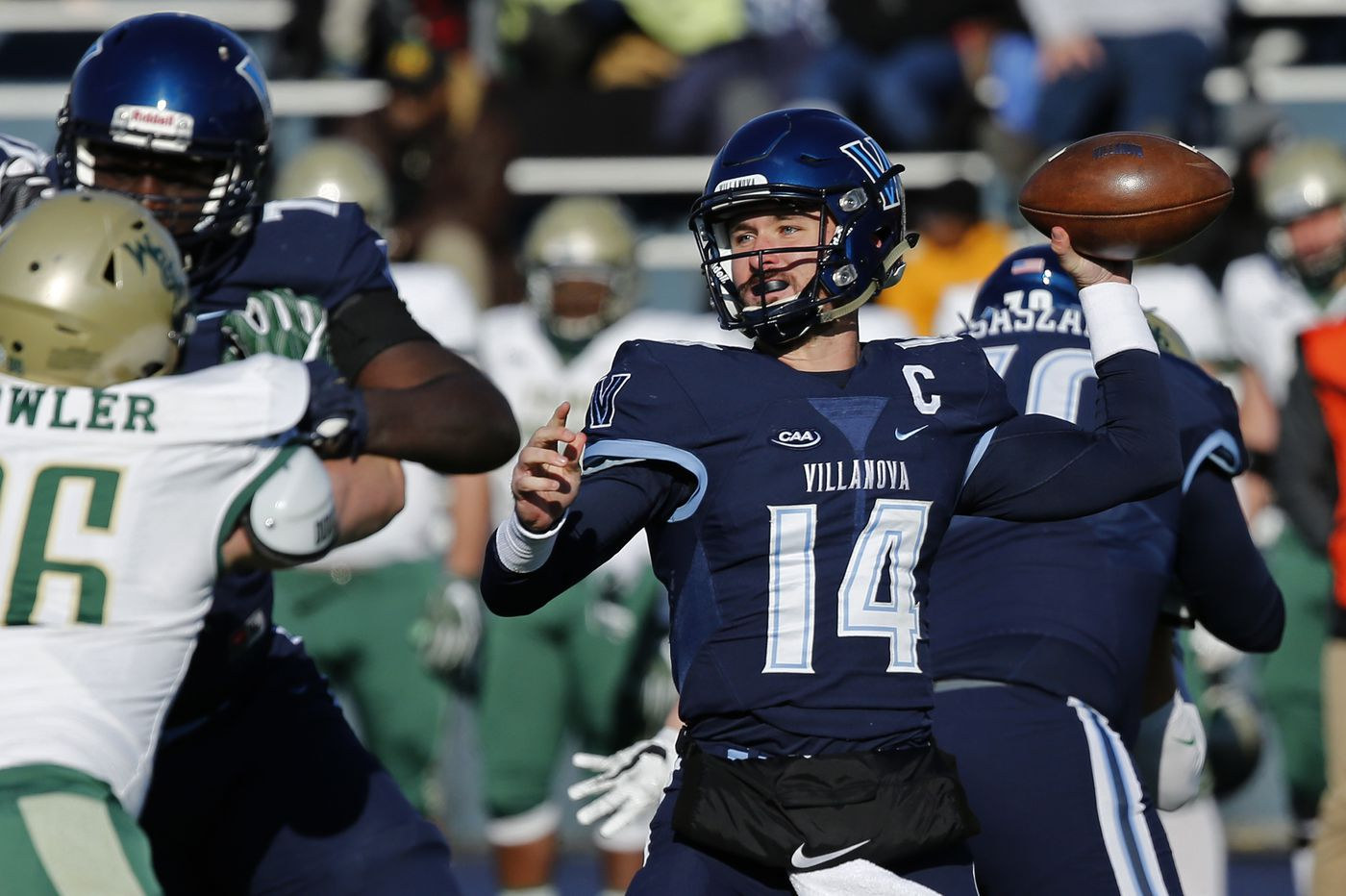 Turnovers too much to overcome as Villanova falls to William & Mary, 24-17