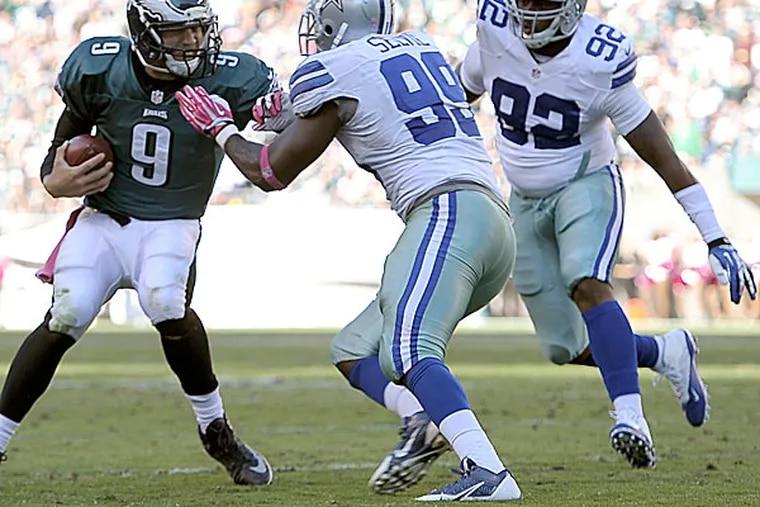 Eagles quarterback Nick Foles. (Michael Perez/AP)