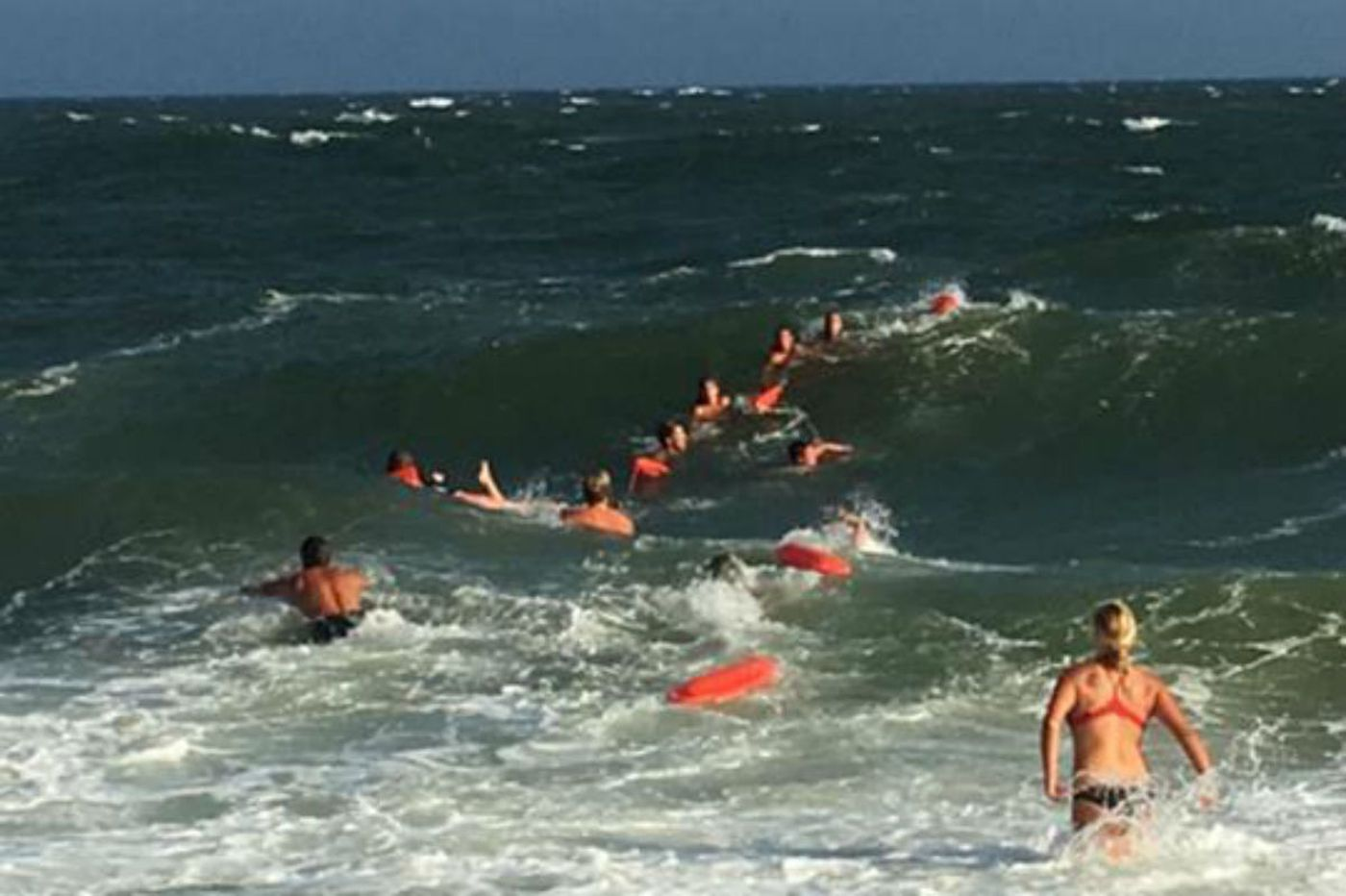 "PR exec saved by human chain in Cape May: ""It was a herculean effort"""