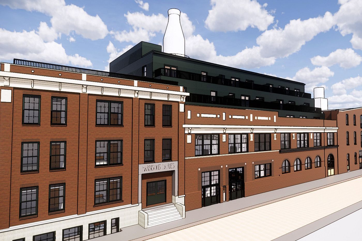 Philly-based maker of promo goods to occupy office space in Kensington's milk-bottle building