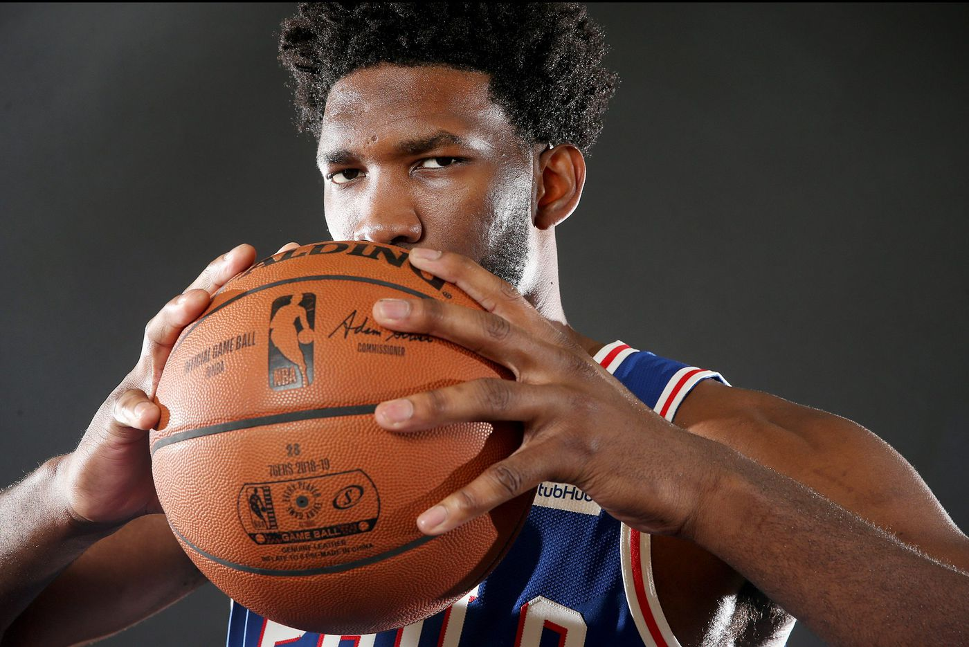 We could see a new Joel Embiid in the post this season. If so, watch out. | David Murphy
