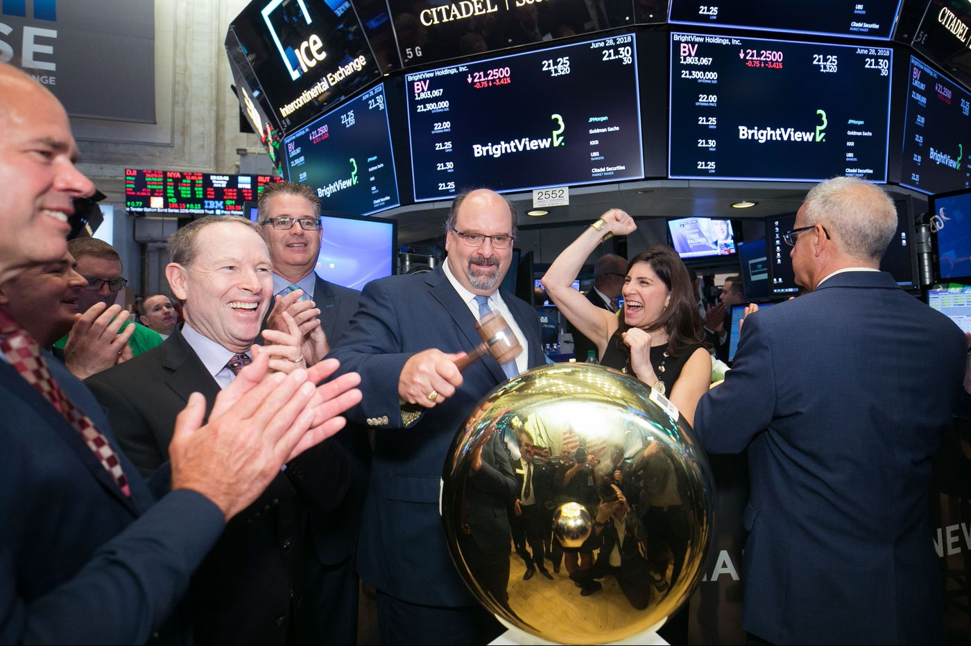 Plymouth Meeting-based BrightView commercial landscaper debuts shares on the New York Stock Exchange