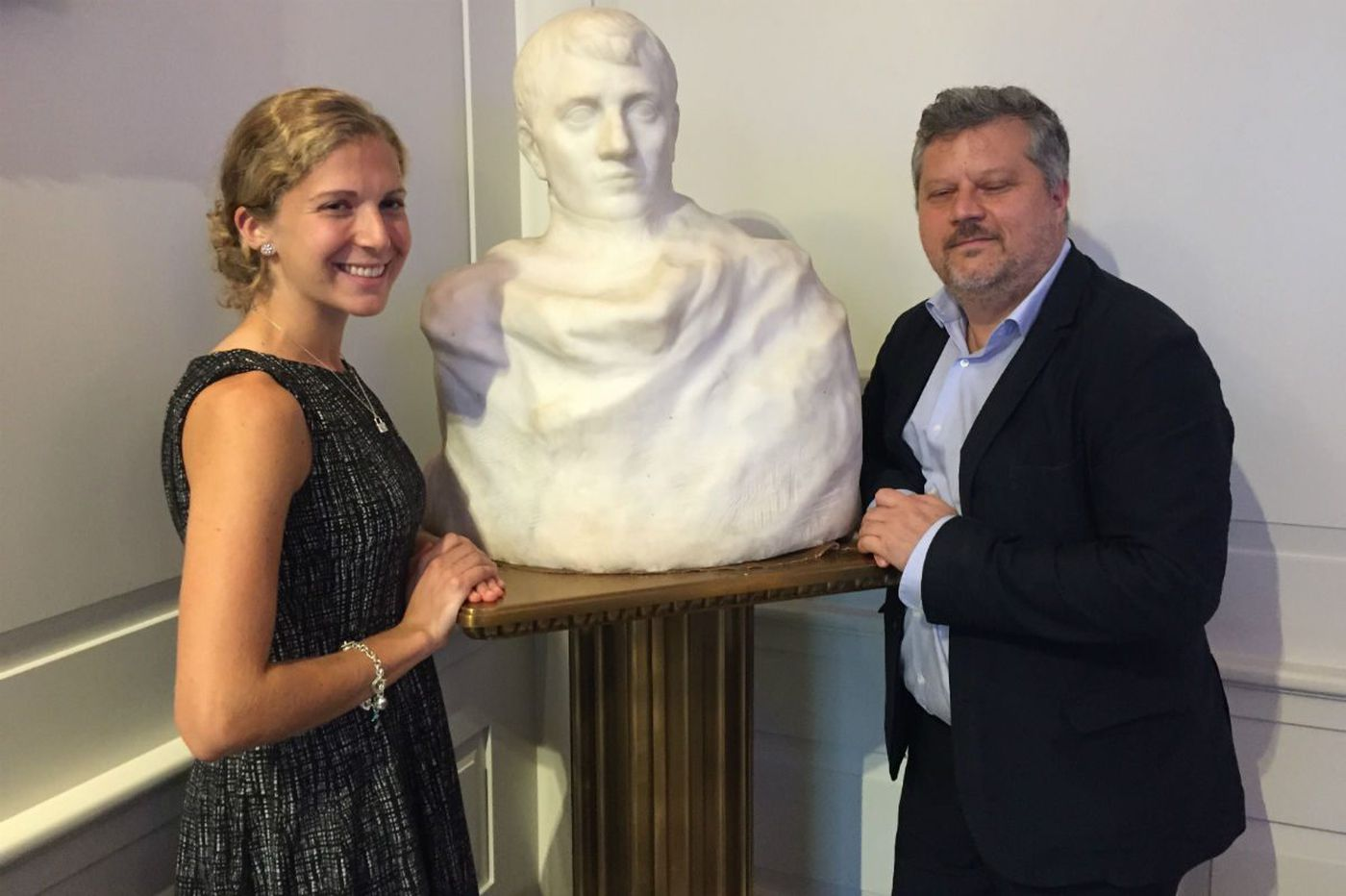 Lost in plain sight in N.J. town hall, Rodin Napoleon coming to Philly