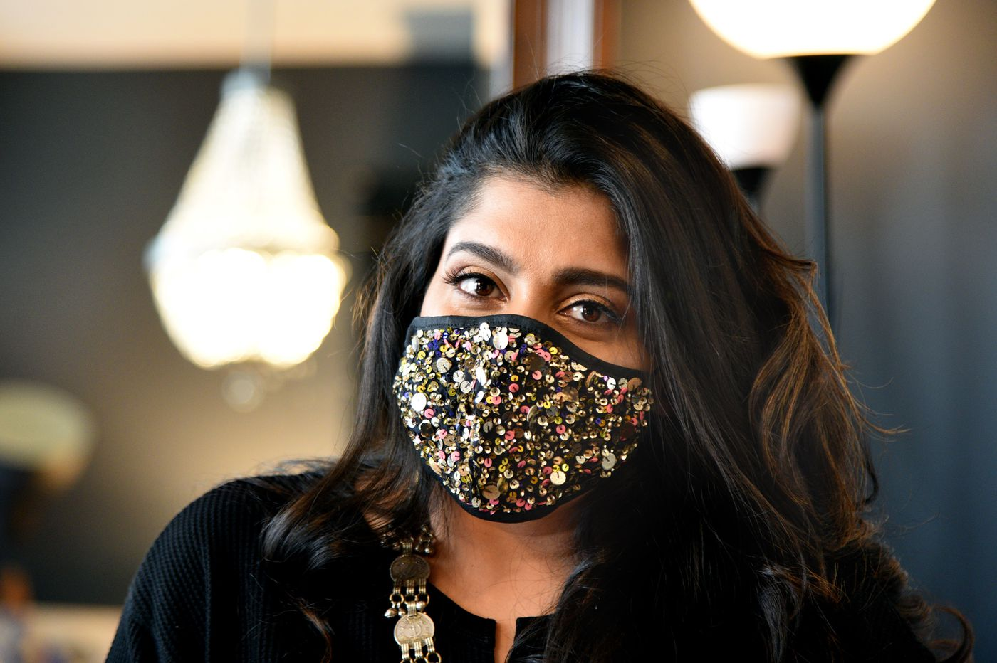 From India to Philly, and from $400 purses to $29 Eagles face masks, this designer's journey is as dynamic as her work | We The People